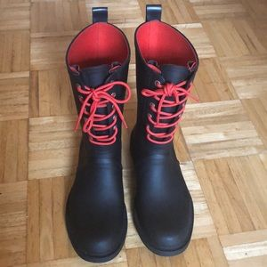 Rag and bone rain/snow boot